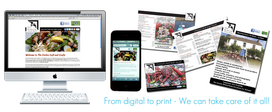 From Digital to Print, We can take care of it all