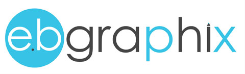 Logo for eb graphix, Kilmacrenan, Co. Donegal